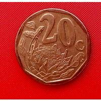 38-15 ЮАР, 20 центов 2013 г.
