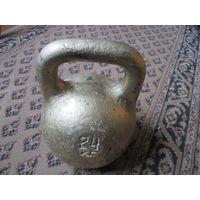 """Гиря """"золотая""""), 24 кг"""