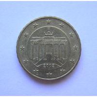 10 евроцентов Германия 2002 J.