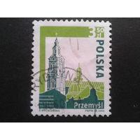 Польша 2005 стандарт кафедральный собор Mi-1,8 евро гаш.