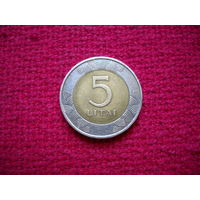Литва 5 литов 1998 г.
