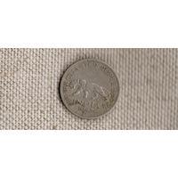 Индия Британская 1/4 рупий 1947/Георг 6 (тигр)(En)