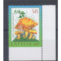 [614] Латвия 2007.Грибы.