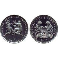 Сьерра-Леоне 1 доллар 2010 Чемпионат мира по футболу  в ЮАР.