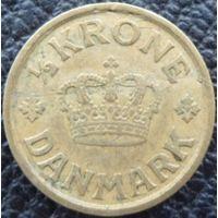 Дания 1/2 кроны 1926 года. Редкая!