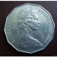 Австралия. 50 центов 1982 г.
