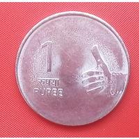 62-21 Индия, 1 рупия 2010 г.