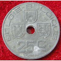 7419:  25 сантимов 1943 Бельгия