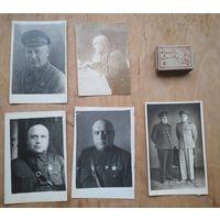 Коллекция фотографий генерал-майора Абашкина Николая Михайловича.
