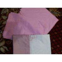 Розовый комплект постельного белья