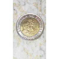 Филипины 10 писо 2002