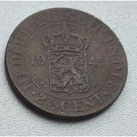 Голландская Ост-Индия 2,5 цента, 1945 7-3-9