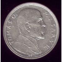 10 Крон 1928 год Чехословакия Масарик