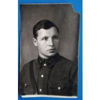 Фото лейтенанта. 1939 г. 9х14 см.