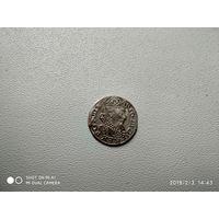 1 грош 1627 Сигизмунд 3 сохран