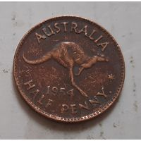 Пол пенни 1954 г. Австралия