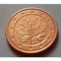 2 евроцента, Германия 2002 D, AU