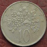 4388:  10 центов 1972 Ямайка