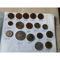 Микс монет разных стран