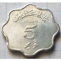 Мальдивы 5 лари, 1979        ( 6-2-3 )