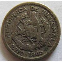 Гватемала 5 сентаво 1945