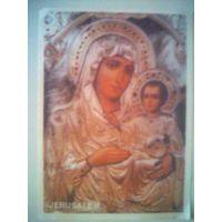Иконка православная Иерусалимская.