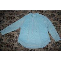 Голубая блузка. Новая. Размер 56-58. Прудок.