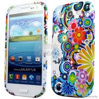 Чехол для мобильного телефона SAMSUNG GALAXY S3 i9300, модель: BLUE FLORA TPU GEL CASE, привезен из Италии