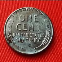 27-01 США, 1 цент 1943 г. !!!СТАЛЬ!!!