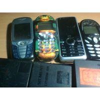 Телефоны, батареи и зарядки