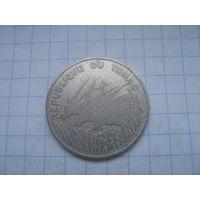 Чад 100 франков 1971г.km2
