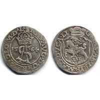 Трояк 1564, Жигимонт Август, Вильно. Окончание легенд - L/LI, R1