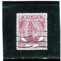 Малайзия. Селангор. Ми-61. Султан Хисамаддин Алам Шах.1949.