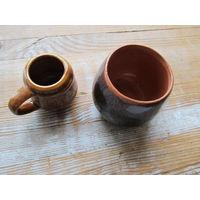 Глиняные чашки