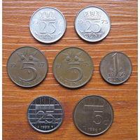 Нидерланды. Набор монет. Центы