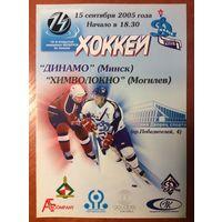 Динамо (Минск) - Химволокно (Могилев). Чемпионат Беларуси-2005/2006.