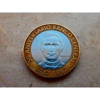 5 песо 1997 Доминиканская Республика.