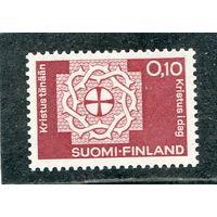 Финляндия. Терновый венец вокруг средневекового креста преемственности
