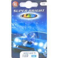 Комплект светодиодных автоламп T5W (2шт.) Blue 12V All Ride