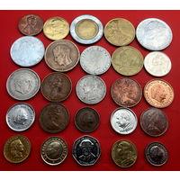 25 портретных монеток без повторов. #23 Старт с 10 копеек.