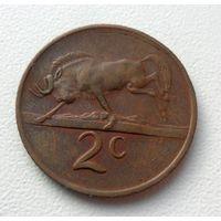 2 цента ЮАР 1970 год