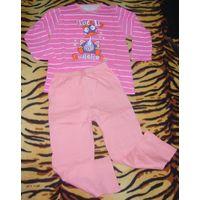 Пижама для девочки 5-6 лет primark essentials