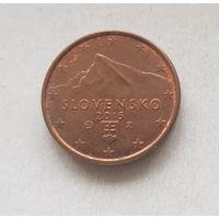 1 евроцент 2015 Словакия