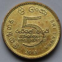 Шри-Ланка,5 рупий 2011 г