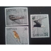 Латвия 1997 птицы полная серия