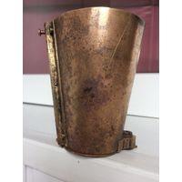 Интересная старая емкость, стакан разборный Латунь/бронза