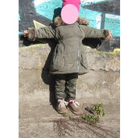 Парка для девочки Rocha. Little Rocha (Debenhams), зима/деми, 2-3 года