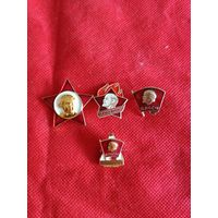 Сборный лот значков3 с рубля.
