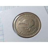 Новая Зеландия 2 шиллинга (флорин), 1950