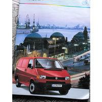 Рекламный буклет на автомобиль Volkswagen Transporter
